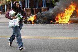 В Балтиморе объявлено чрезвычайное положение из-за беспорядков