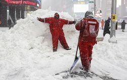 Ущерб от снегопадов в США превысил 3 млрд. долларов – Moody's