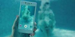 Xperia M2 Aqua от Sony делает снимки под водой на глубине 1 метра