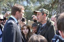 Ударивший Царева активист Николаева жалуется на угрозы семье