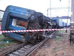 На территории Узбекистана потерпел крушение поезд из Таджикистана