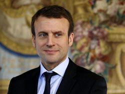 Макрон победил в первом туре президентских выборов во Франции