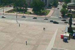 СМИ: в центре Донецка расстреляли автомобиль с террористами