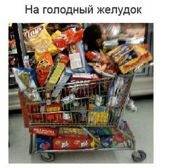 Ученые: ходить в магазин на голодный желудок вредно для здоровья