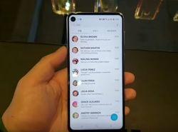 Вышел в свет Galaxy A8s – первый Samsung с дисплеем Infinity-O