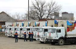Энный «путинский конвой» направился в Донбасс