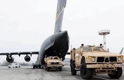 Транспортная аваиция США в Манасе