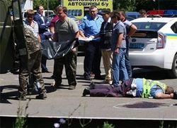В Донецке убиты сотрудники ГАИ