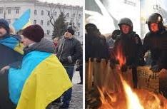 МВД: Евромайдан никто не трогает, милиция идет на баррикады