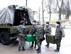 Колонна бронетехники из Львова отправилась на восток