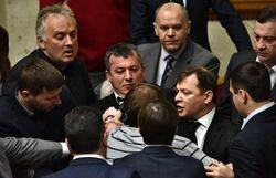 В ВР подрались народные депутаты