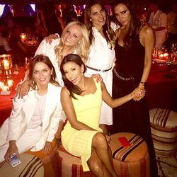 Spice Girls воссоединились на 40-летие Дэвида Бекхэма
