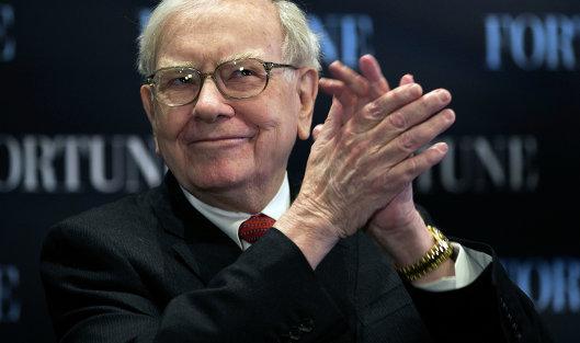 Уоррен Баффет заработал за год рекордные 45 млрд. долларов