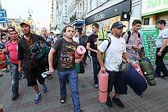 Суд над милиционерами-насильниками поддержит Врадиевский марш-2