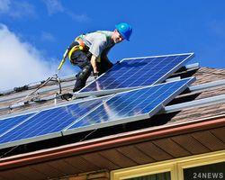 Число частных солнечных электростанций в Украине выросло на 18 процентов