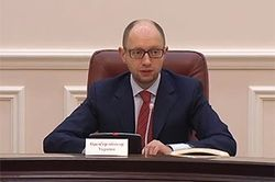 Апогей российско-украинского кризиса преодолен – Яценюк