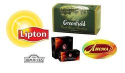 34 ведущих брендов чая у россиян в июле 2014г.