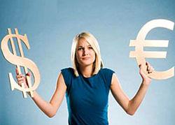 Курс евро на Forex понизился к доллару до 1.3575