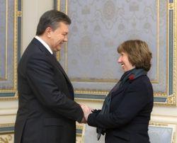 Эштон: Янукович обещал в течение суток принять меры для разрешения кризиса