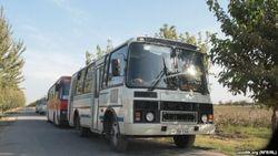 В столице Узбекистана колонна автобусов сбила пешехода