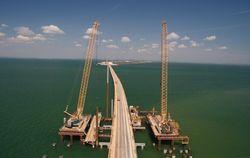 В РФ привлекли студентов к строительству Керченского моста