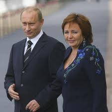 Президент РФ Владимир Путин и его жена Людмила официально развелись