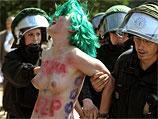 FEMEN протестует