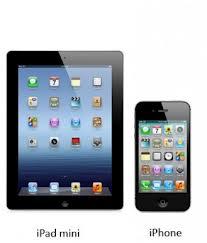 iPhone 5 и iPad mini