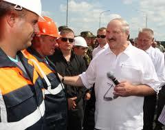 Лукашенко открыл мост через Днепр