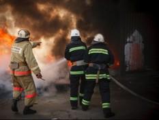 пожар в ресторане Мощак