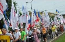 В Николаеве «встали» 1,5-5 тысяч человек: эксцессов не было
