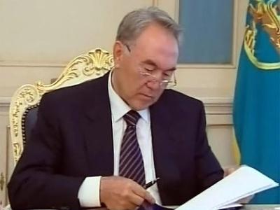 Назарбаев об инвестициях в новый resort