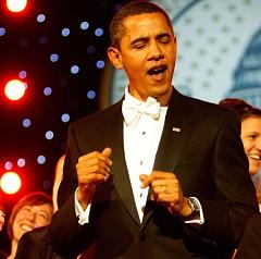 Барак Обама поет блюз