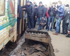 Власти Киева обвал перрона назвали ненастьем погоды
