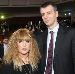 Пугачева и Прохоров