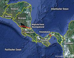 Парламент Никарагуа поддержал строительство канала между океанами