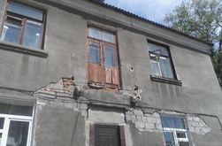 Балкон с людьми обвалился на Донбассе – последствия