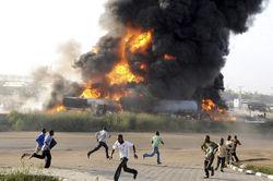 В Афганистане автобус столкнулся с бензовозом, - не менее 45 погибших