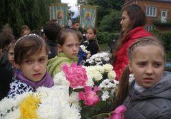 Во Львове состоялось прощание с погибшей в Симеизе 10-летней девочкой