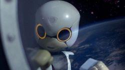 В Японии презентовали робота Kirobo, который в августе полетит на МКС
