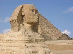 Археологи нашли в Израиле фрагменты древнеегипетского сфинкса