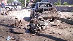 Смертник устроил взрыв у здания МВД Махачкалы - последствия