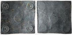 Квадратная монета