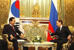 Россия-  Южная Корея