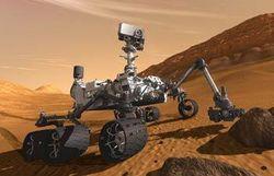 Марсоход Curiosity приступил к анализу выбуренного в камне вещества