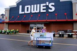 За четвёртый финквартал прибыль Lowe's упала на 11 процентов