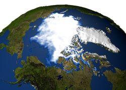 Арктика стремительно теряет ледовое покрытие