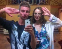 Снежана Камбур и Антон Димаков