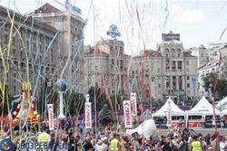 В фан-зоне Евро-2012 в центре Киева искали бомбы