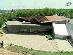 Ураган атаковал музей запорожского казачества на Хортице